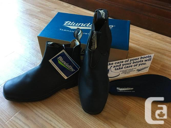 Blundstone Boots BRAND NEW black chisel toe leather AUS