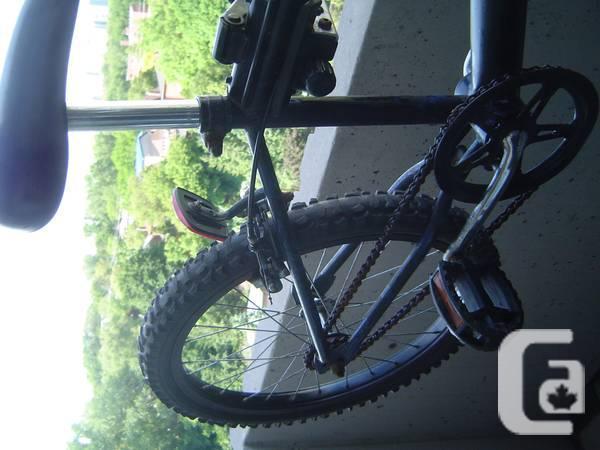 BMX, complete bike (make unknown)