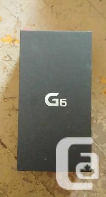 BNIB LG G6, Hamilton On
