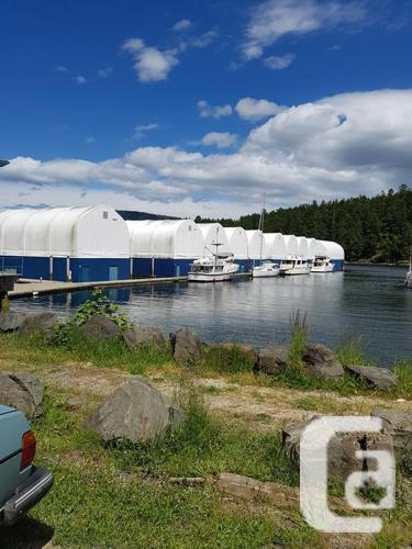 Boat House Yacht Enclosure 65 X 30 Maple Bay Marina