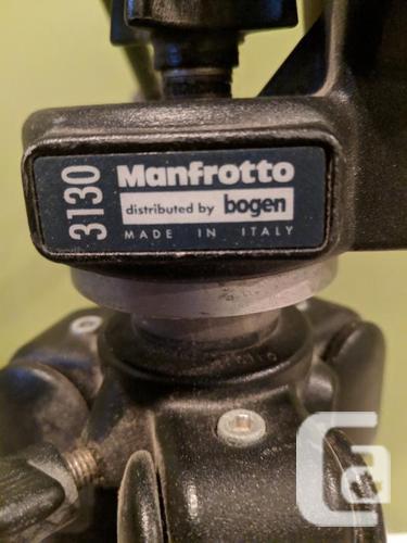 Bogen Manfrotto 3211 tripod w/3130 swivel head