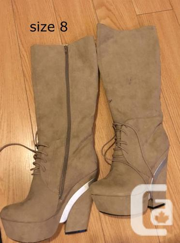 boot/shoes/heels size 8  $40 per items