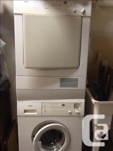 Bosch washer & Dryer