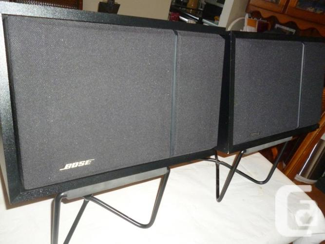 Bose 201 Series 3 Stereo Bookshelf Speakers with Stands
