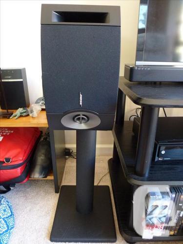 Bose speakers: 201V set and center speaker VCS-10