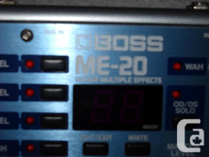Boss ME-20 Multi effects pedal