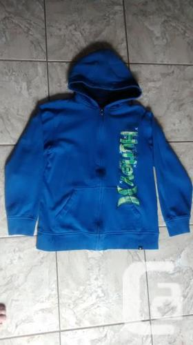 Boys Blue Hurley Hoodie - Size Xl (14-16)