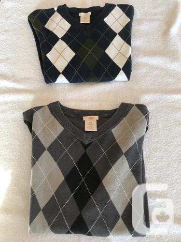 Boys (Size 10-12) Various Long Sleeves Tops