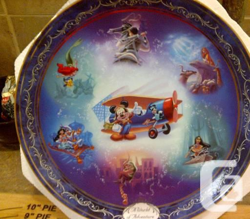 Bradford Disney Dishes - $35
