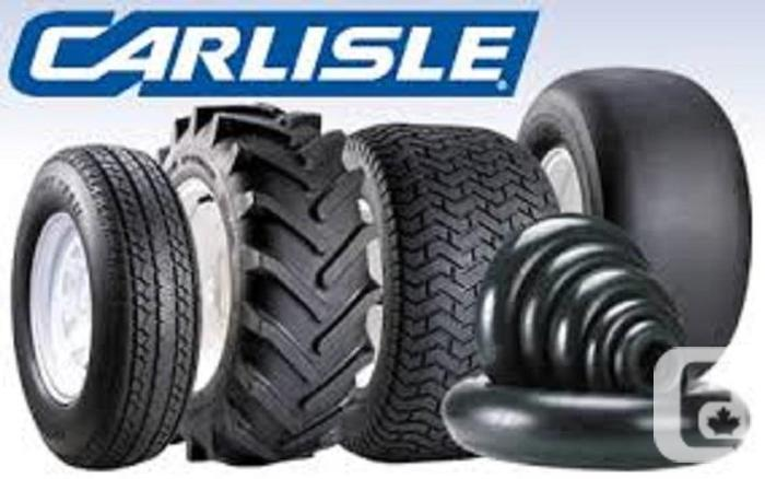 Brand name Carlisle & other trailer tires and rims in