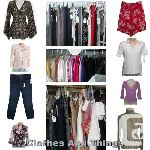 BRAND NAME Clothing Store Inventory ~ 1100 Pieces