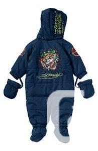 eb9a8c8b3ed5 Brand New ED HARDY Baby Boys  Navy Blue Snowsuit - for sale in ...