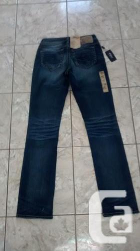 Brand New - Ladies SILVER Jeans - Size 27x33