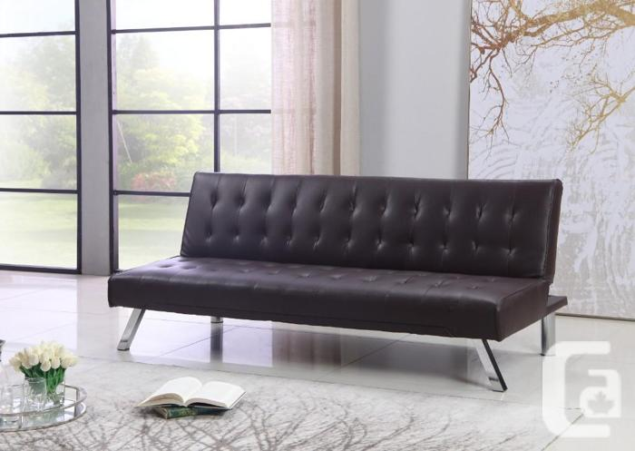 BRAND NEW PU-LEATHER SOFA BED (3 COLORS & GREY FABRIC