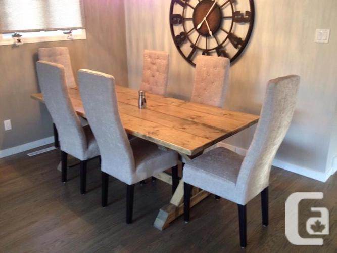 BRAND NEW Rustic Harvest Tables for sale in Hope British Columbia Classified