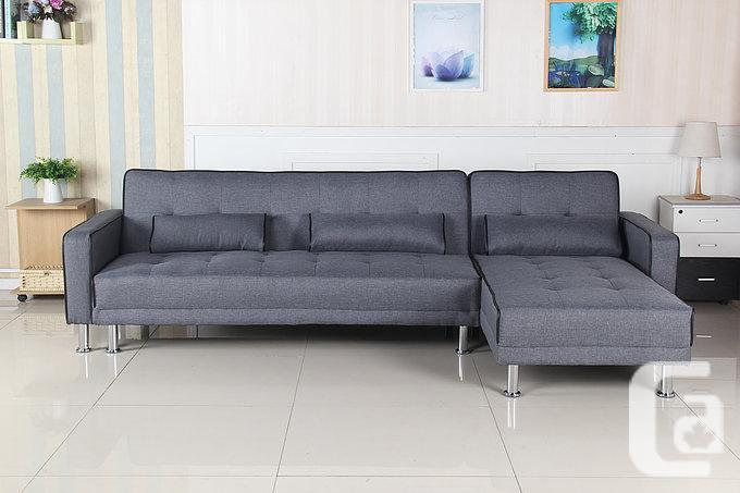 BRAND NEW SECTIONAL SOFA BED WITH MULTI-POSITIONS-FREE ...
