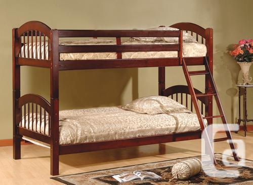 BRAND NEW SINGLE/ SINGLE WOODEN BUNK BED SALE /MATTRESS