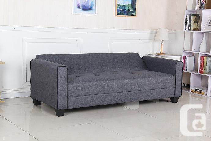 Brand New Very Comfortable Fabric Sofa Bed With Free