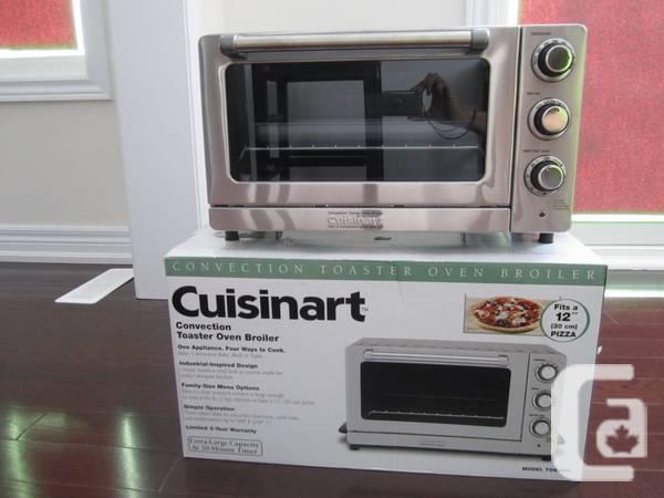 BrandNEW Cuisinart Toaster Oven Broiler w/