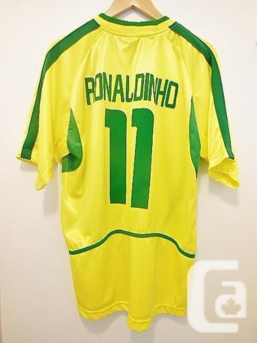 Brasil CBF Soccer No. 11 Ronaldinho Jersey T Shirt