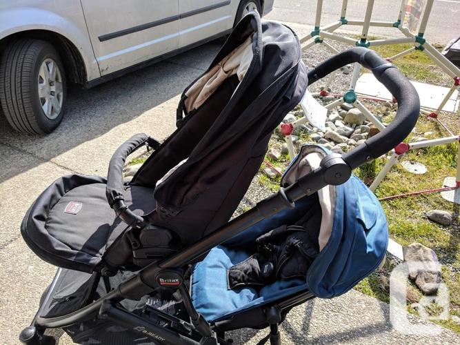 Britax double stroller - price reduced!!