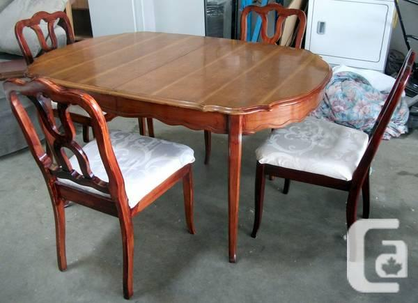 Brown Dining Table Set w 3 Piece Extension amp 8 Chairs  : brown dining table set w 3 piece extension 8 chairs 1998940847 from vancouver.canadianlisted.com size 600 x 435 jpeg 37kB