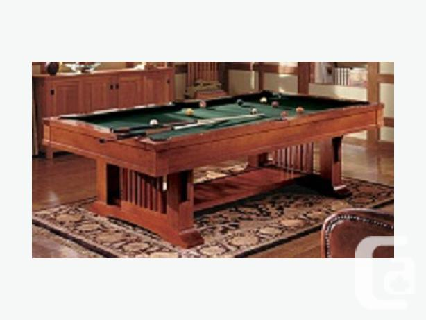 Brunswick Mission Pool Table For Sale In Milo Alberta Classifieds - Brunswick mission pool table