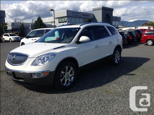 buick enclave cxl for sale in duncan british columbia classifieds. Black Bedroom Furniture Sets. Home Design Ideas