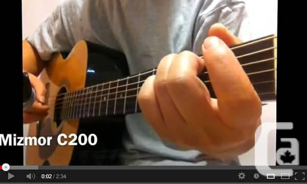 C200 Electric Guitar Completely New: full-size - $140