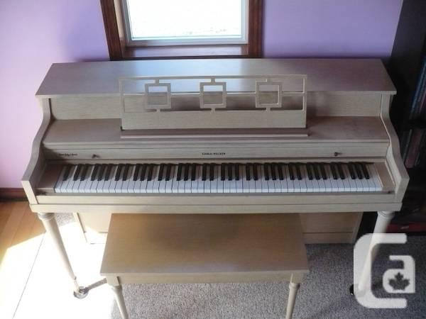 Cable Nelson Spinet Piano - $1100