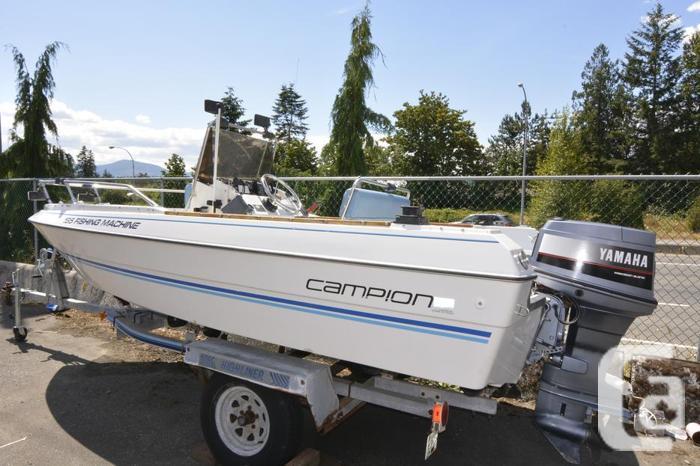 Campion 165 Fishing Machine