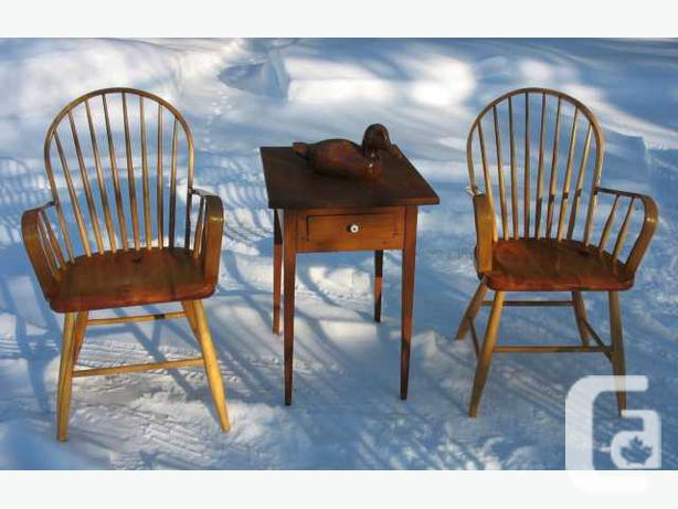 Canadiana Hoopback Chairs & Armchairs