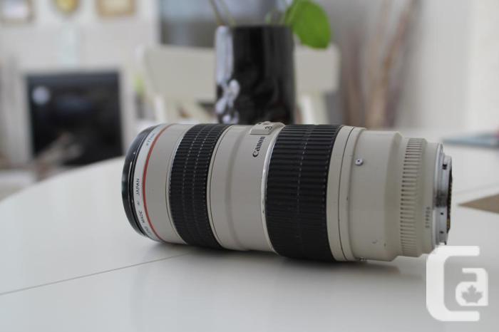 CANON 70-200mm f 2.8 L-SERIES
