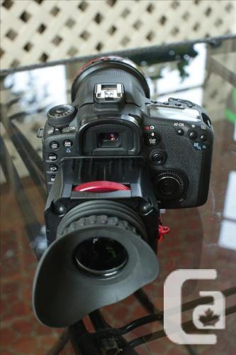 CANON 7D + 16-35 2.8L + ZACUTO VIEWFINDER