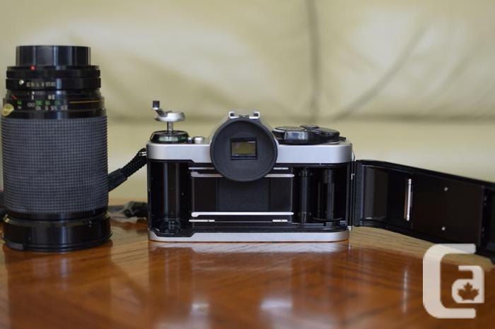 Canon AE-1 35mm camera outfit