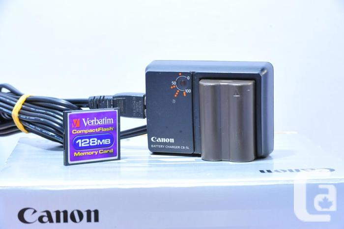 CANON EOS 10D Digital camera package