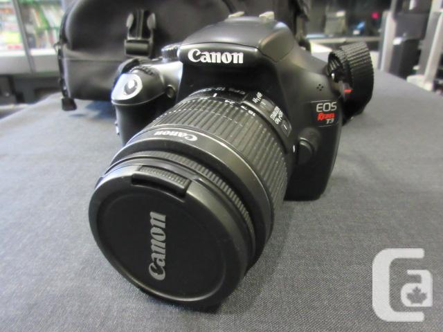 Canon EOS Rebel T3 (with 18-55mm IS II lens)