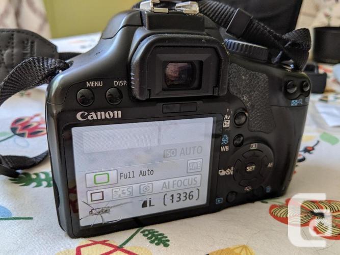 Canon EOS Rebel XSi digital SLR camera