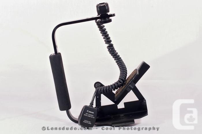 CANON OC-E3 Hot-Shoe Cord and Camera-Flip Bracket