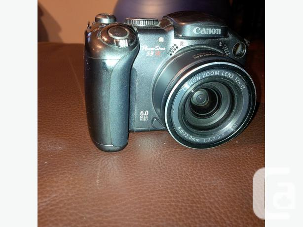 Canon Powershot S3 6MP Camera