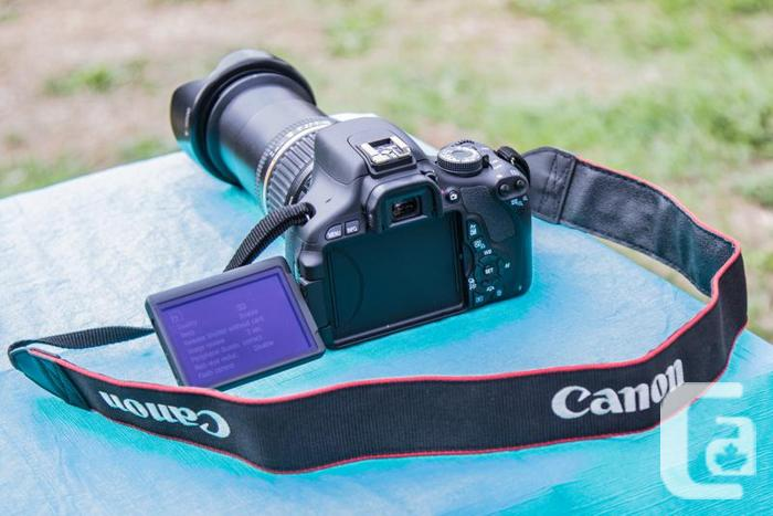 Canon Rebel T3i With Tamron 18 250 Lens For Sale In