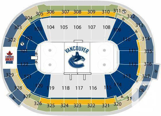 Canucks vs Canadiens (below face value) - $120