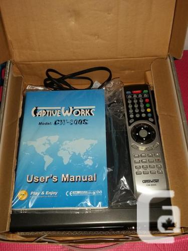 CaptiveWorks CW-800S DIgital Satellite Receiver. Free