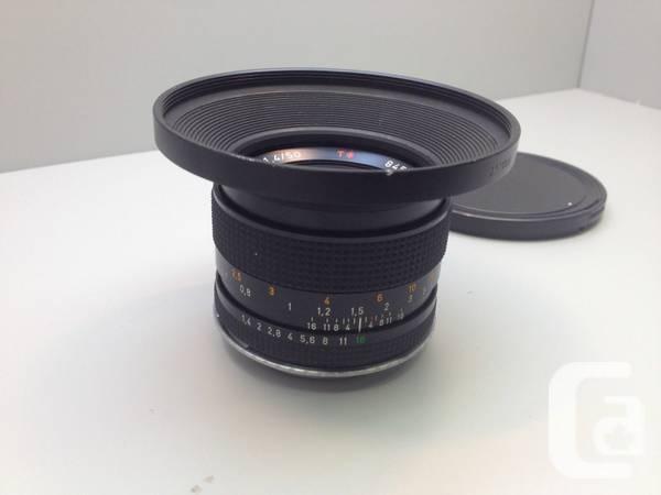 Carl Zeiss Contax Planar T* 50mm F1.4 - $360