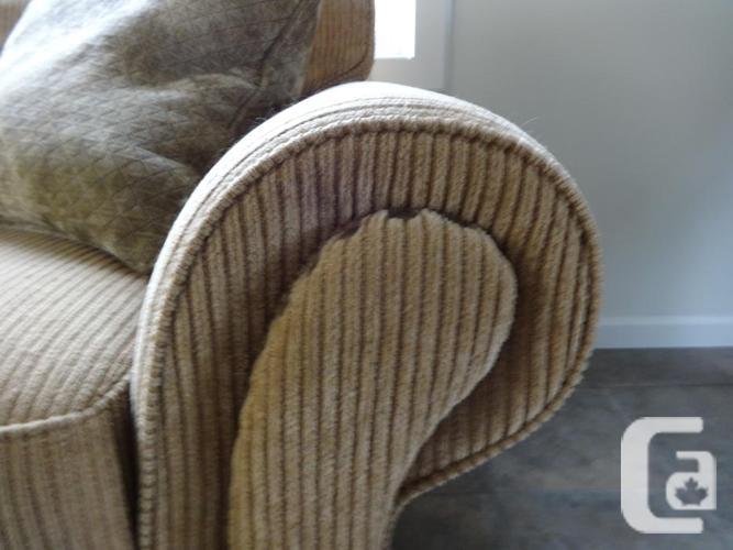 Carmel Coloured Corduroy Couch