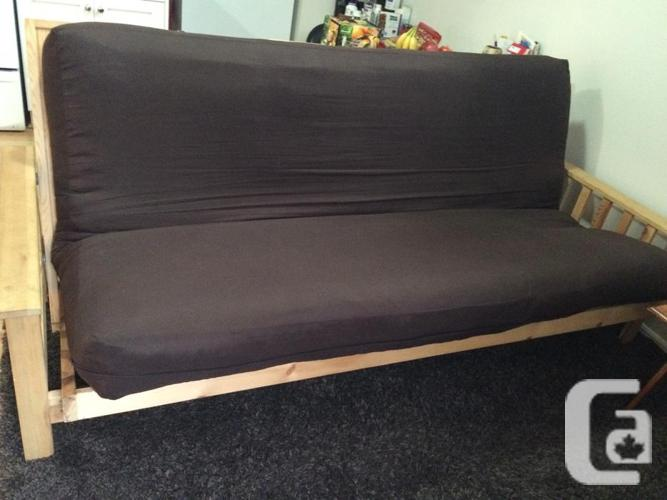 Cedar Futon with Comfy Cushion & Cover