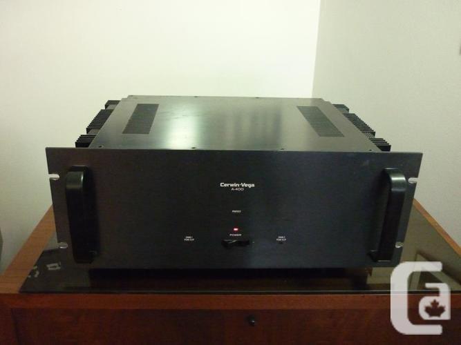 CERWIN VEGA! *A-400* Ultra Rare Professional Power Amplifier* in Ottawa,  Ontario for sale