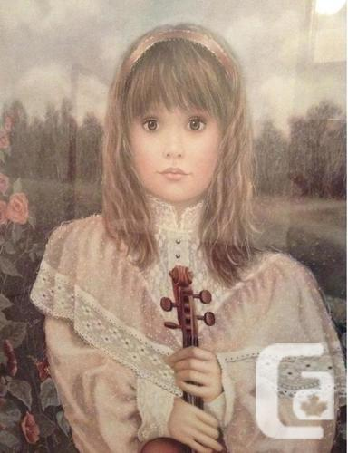 Chantal Poulin - First Recital limited edition print