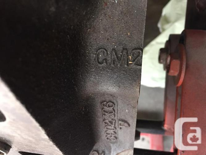 Chevrolet 1968 396 Cu in Engine