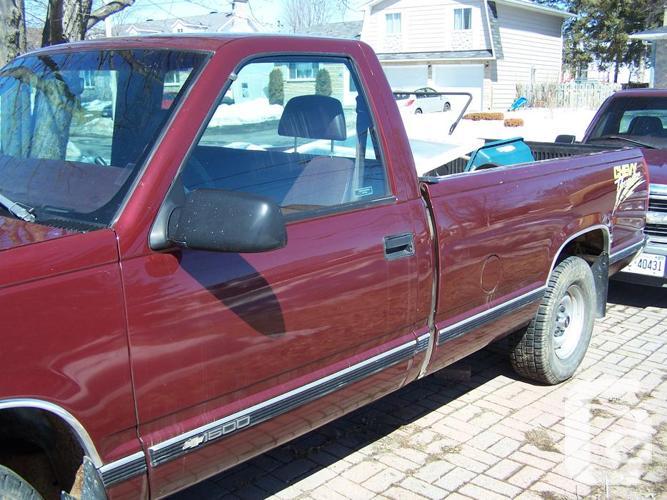 Chevrolet Pickups for sale (1998) 2 good trucks